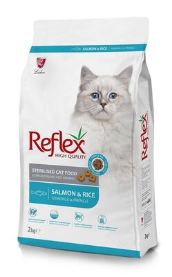 REFLEX - REFLEX ADULT CAT STERILIZED 33/13 SALMON 2 KG
