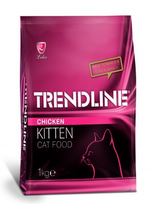 TRENDLİNE - TRENDLINE KITTEN CAT 30/12 CHİCKEN 1 KG