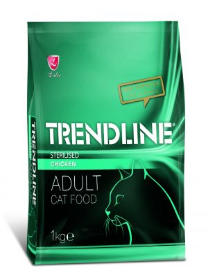TRENDLİNE - TRENDLINE KEDİ STERILIZED 27/10 CHİCKEN 1KG